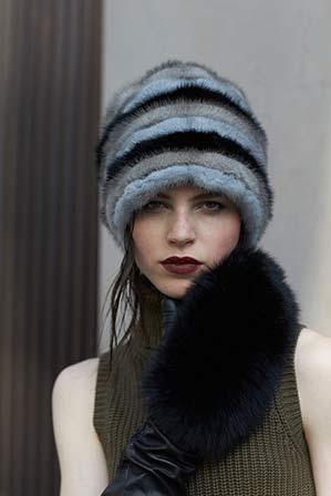 Cappello visone  cc9bcd3aa4e7
