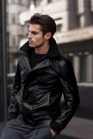 1be006a5bc9189 Giacca pelle uomo   Paolo Moretti Milano negozio giacche in pelle