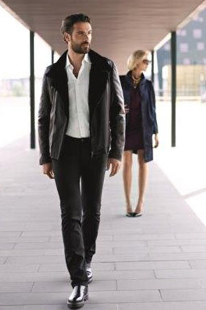 buy online b72b8 ffd1d Giubbotto pelle uomo | Paolo Moretti giacche di pelle per ...