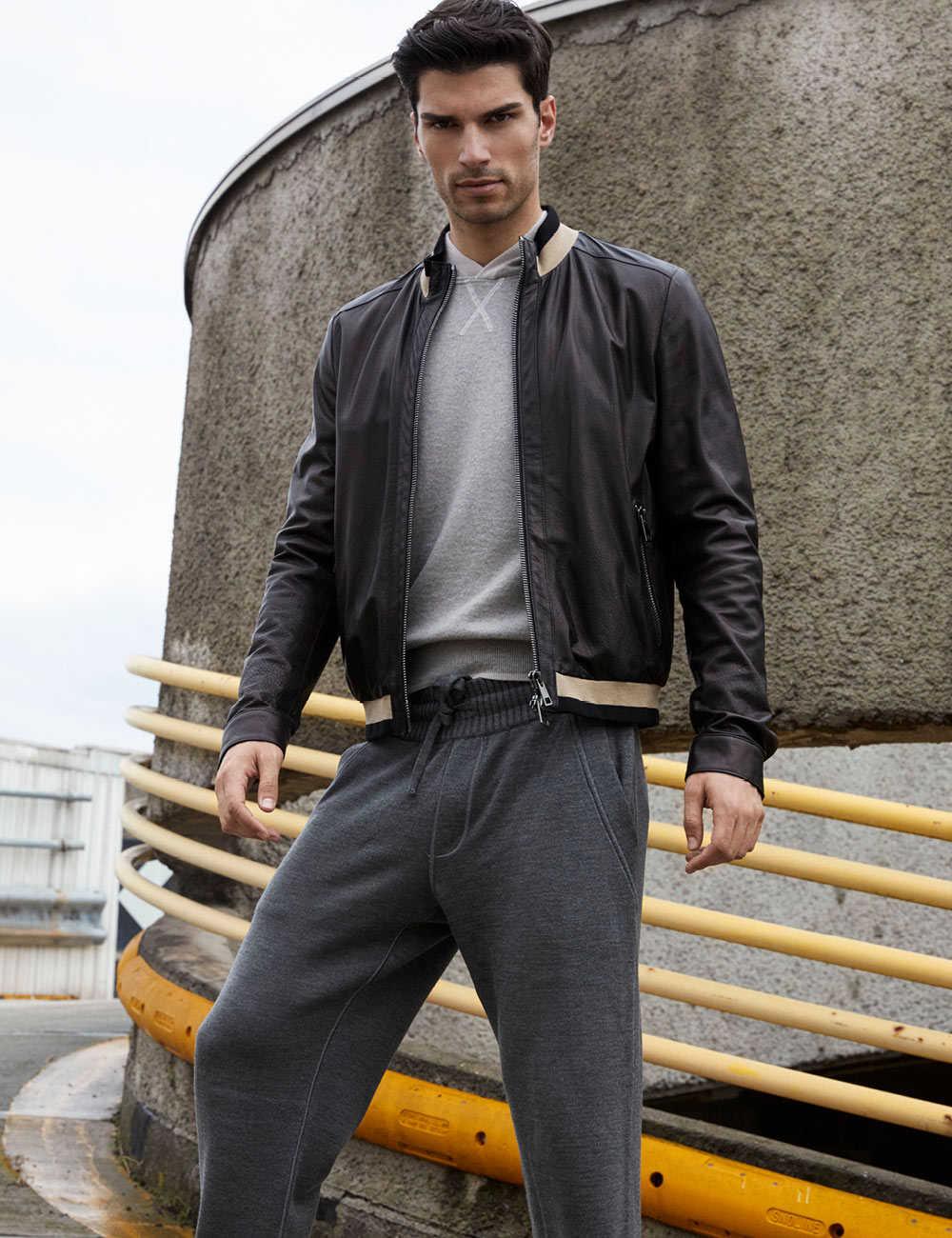 Giacca di pelle   Paolo Moretti Milano collezioni giacche di